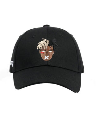 Picture of Men's Hat Fashion Stylish Embroidered Hip Hop Peak Cap - One Size