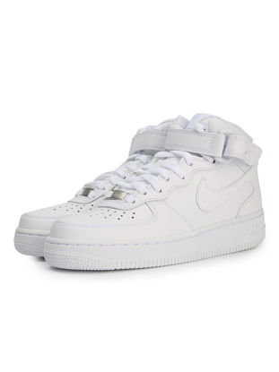 Picture of Nike Air Force 1 Mid Men's Fashion Shoes Solid Color Classic Casual Sneakers 366731-100 - 42