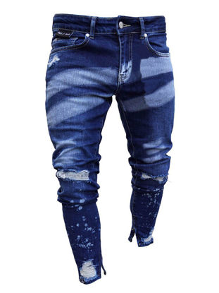 Picture of Men's Jeans Fashion Casual Slim Pants - S