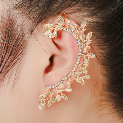 Picture of 1 Pc Women's Ear Clip Rhinestone Ladylike Delicate Ear Clip - One Size