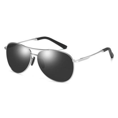 Picture of ZORAVIA Men's Sunglasses Classic Outdoor Polarized Light Metal Frame Sunglasses Accessory - One Size