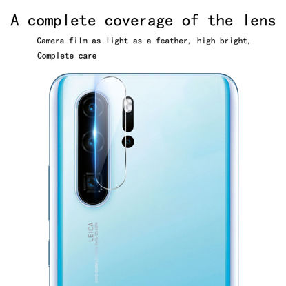Picture of Huawei P30/P30 Pro/P20/P20 Pro Camera Tempered Glass Film Transparent HD Screen Protector - Huawei P30