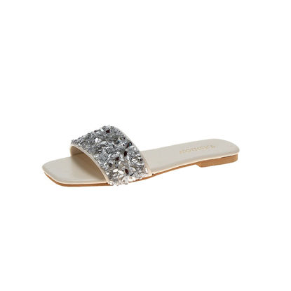 Picture of Women's Open Toe Slippers Casual Sequins Anti-Skidding Light Breathable Shoes - 40