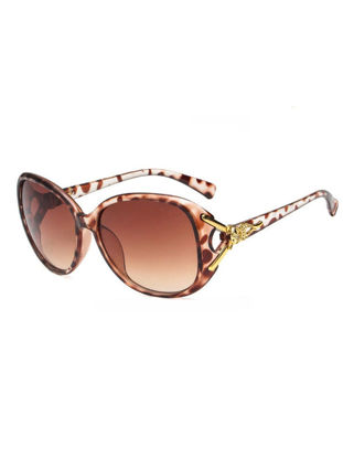 Picture of Women's Leisure Sunglasses Full Frame Hollow Out Fashion Outdoor Eyewear - Size: One Size