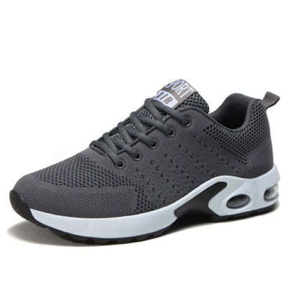 Picture of Men's Running Shoes Breathable Anti-skidding Comfy Shoes - Size: 40