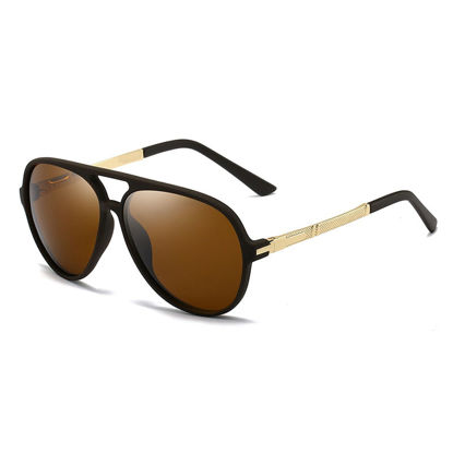 Picture of Men's Sunglasses Polarized Wayfarer Cycling Glasses Accessory - Size: One Size