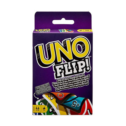 Picture of Mattel Game Uno Flip Classic Card Game Board Game