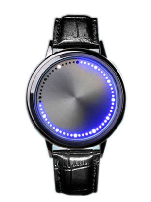 Picture of Unisex Fashion Watch Simple Style Touching Waterproof Accessories - Size: One Size