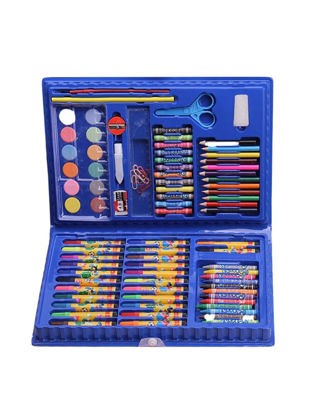 Picture of Kid's Watercolor Brush Set High Quality Multi-Colored Watercolor Pens Stationery Set - Size: One Size