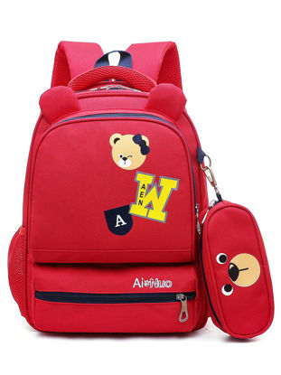 Picture of Kid's Backpack Large Capacity Durable Comfortable Fashion Bag - Size: One Size