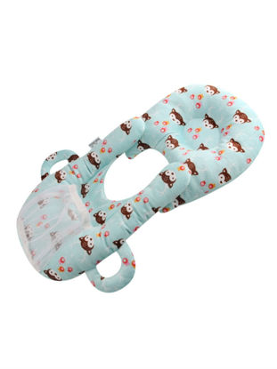 Picture of Beiens Baby's Pillow Multifunction Anti Spilled Milk Solid Color Pillow - Size: Free