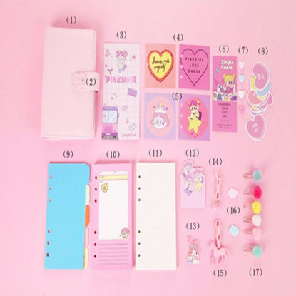 Picture of 1Pc Notebook Sweet Cartoon Creative School Supply