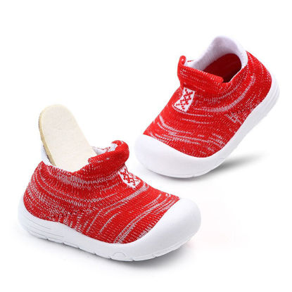 Picture of Kid's Pre Walkers Fashion Patchwork Colorblock Cute Shoes - Size: 13cm