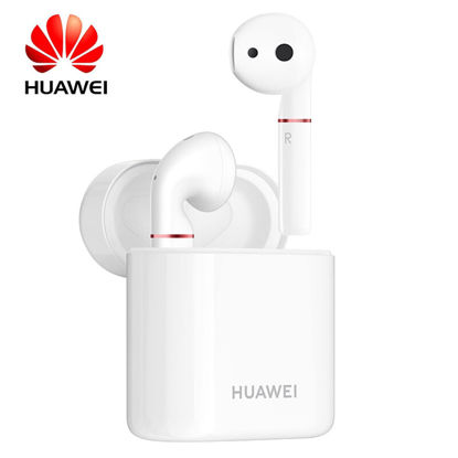 Picture of Original Huawei FreeBuds 2 Pro TWS Bluetooth 5.0 Wireless Earphones With Mic In-Ear Headphones - Size: Free