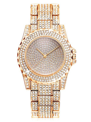 Picture of Men's Watch Fashion Rhinestones All Match Chic Accessory - Size:One Size