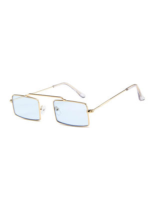 Picture of Women's Sunglasses Trendy Square Circle Design Stylish Sunglasses Accessory - Size:One Size