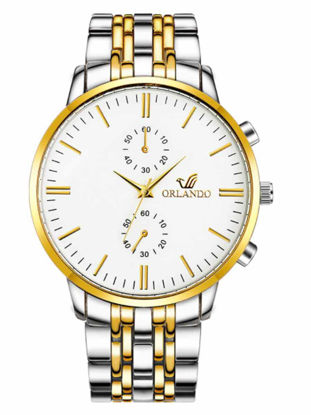 Picture of Men's Fashion Watch Pointer Display Business Quartz Watch Accessory - Size:One Size