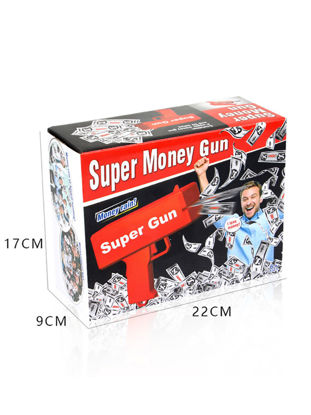 Picture of Money Gun Make It Rain Red Fashion Toy Christmas Gift Party Toy - Size:One Size