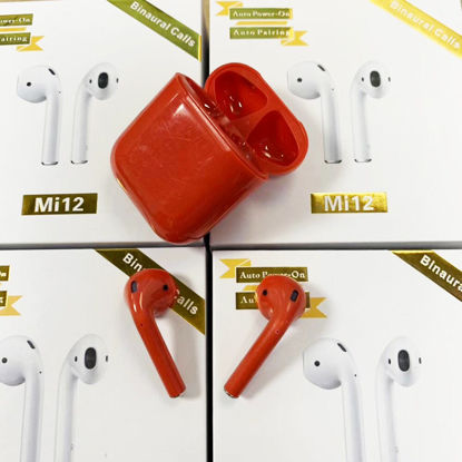 Picture of Mi12 Bluetooth Headphone Auto Pairing In Ear Headphone iPhone X /XS/XR 8/7/ Huawei/Samsung Galaxy Series