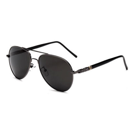 Picture of Men's Sunglasses Classic Polarized Wayfarer Glasses Accessory - Size:One Size
