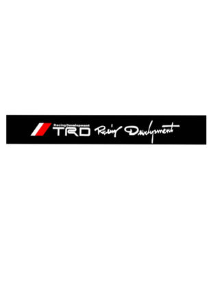 Picture of Reflective Personality TRD Car Windshield Car Sticker Removable Waterproof Car Styling Sticker