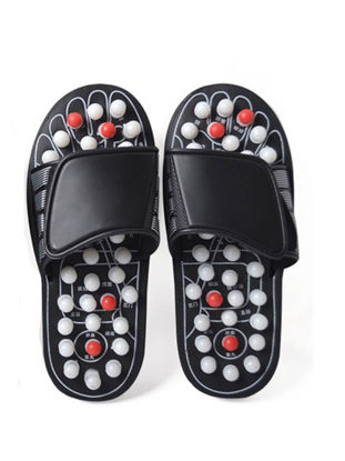Picture of Massage Slippers Improved Blood Circulation Convenient Practical Massage Slippers Black - Size:Free