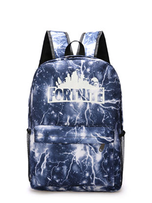 Picture of Fortnite Students Backpack Creative Design Colorful Faddish Boy'sSchoolBag - Size:One Size