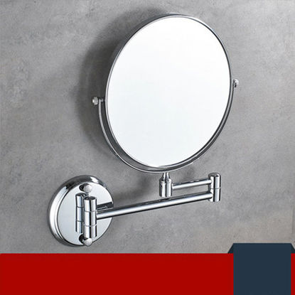 Picture of Makeup Mirror Hotel Rotation Wall Mounted Makeup Mirror - Size:One Size