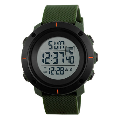 Picture of Men's Electronic Watch Fashion Simple All-Match Watch - Size:One Size