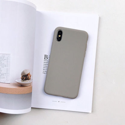 Picture of iPhone 11 Phone Cover Solid Color TPU Case - Size:iPhone 11