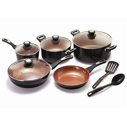 Picture of Set of 11 in 1 ceramic cooking pot