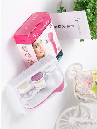 Picture of Electric Facial Cleansing Brush Sonic Deep Pore Clean With Replaceable Heads