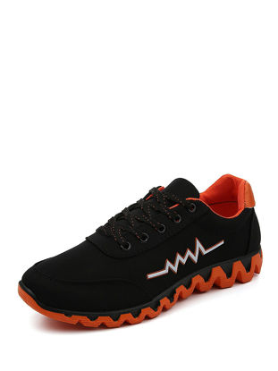 Picture of Men's Sports Fashion Shoes Casual Running Antiskid Lace Up Shoes - Size: 40
