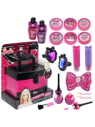Picture of Kid's Makeup Princess Girl Makeup Kit Suitcase House Toys - Size: One Size