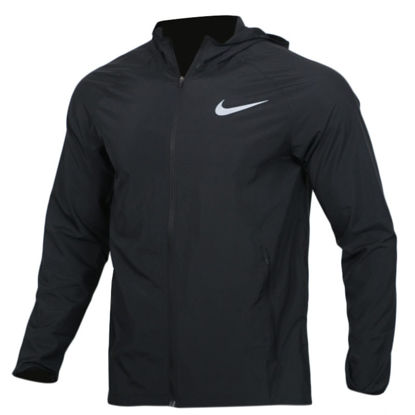 Picture of Nike Essential Men's Sport Jacket Hooded Long Sleeve Running Jacket 856893 - Size: XL