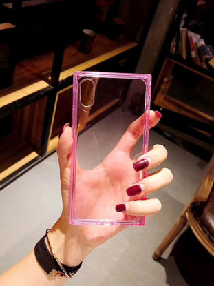 Picture of IPhone X Cover Simple Transparent Case - Size: IPhone X