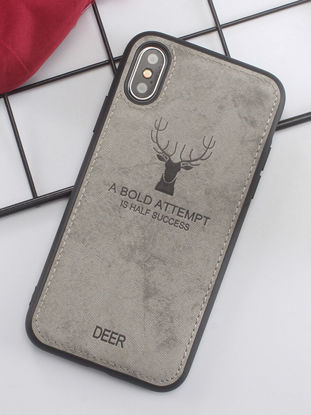 Picture of iPhone  Case Deer Pattern Shatter-Resistant Phone Case