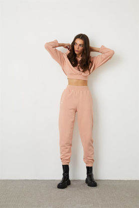 Picture of Pink thick stretch stretch sweatshirt