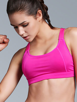 Picture of B.BANG Women's Sports Bra High Elastic Breathable Adjustable Fitness Yoga Bra - Size:XXL