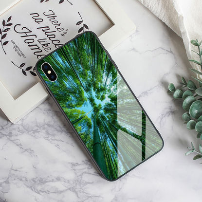 Picture of iPhone XS/XR/XS Max/X/8/8 Plus/7/7 Plus/6/6S/6 Plus/6S Plus Phone Cover Beautiful View Pattern Case-Size: IPhone X
