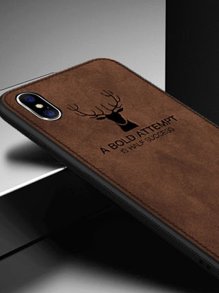 Picture of iPhone Phone Case Deer Horn Pattern Retro Phone Case