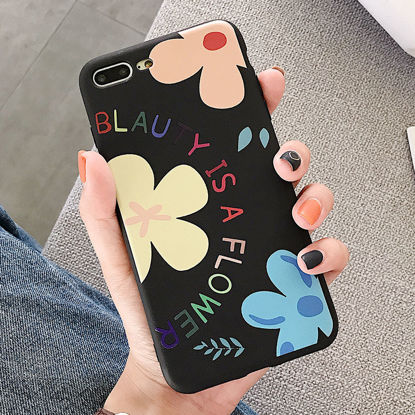 Picture of Huawei Series Phone Cover Fresh Style Flowers Protective Case-Size: Huawei Honor Play