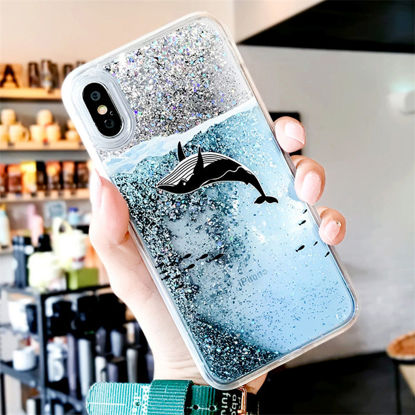 Picture of Samsung Series Phone Cover Creative Cartoon Animal Quicksand Protective Case-Size: Samsung A5 2017