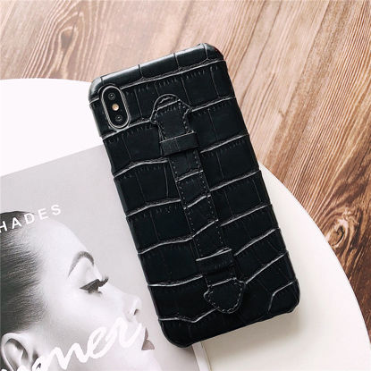 Picture of iPhone 11/11 Pro/11 Pro Max/XS/XR/XS Max/X/8/8 Plus/7/7 Plus/6/6S/6 Plus/6S Plus Phone Cover Solid Color Case-Size: iPhone XS Max
