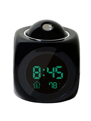 Picture of 1Pc Digital Alarm Clock Wall Ceiling Projection LCD Voice Talking Desk Clock-Size: One Size