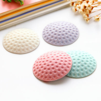 Picture of 4 Pcs Bumper Creative Round Solid Color Home Essentials-Size: One Size