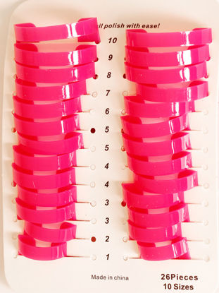 Picture of 26 Pieces Women's Nail Polish Apply Tools Professional Beginners Nail Salon Toolls