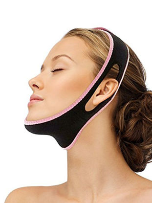 Picture of Face Slimming Belt Chin Support Lifting Anti Snoring Band Strap-