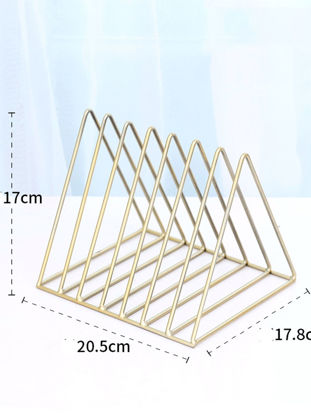 Picture of File Organizer 1 Piece Simple Geometric Storage Product-Size: One Size