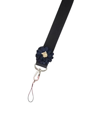 Picture of Mobile Phone Strap Chic Flower Detachable Long Strap Lanyard-Size: One Size